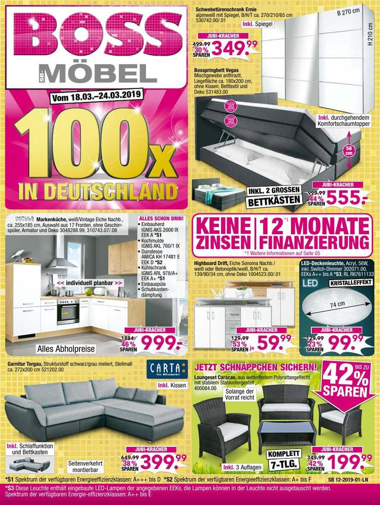 Möbel Boss KW 12/2019